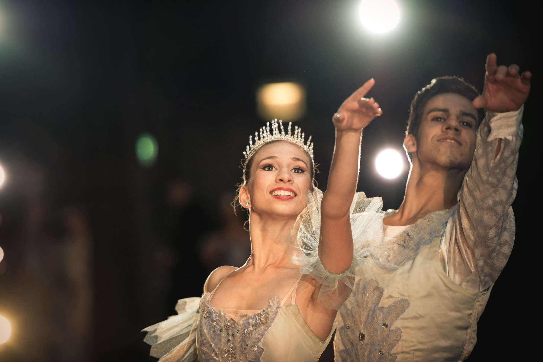 Catherine Conley and Cuban ballet dancer Dario Hernandez Robaina perform in the Ruth Page Center for the Performing Arts production of {quote}The Nutcracker{quote} at Northeastern Illinois University, December 4, 2016. Conley returned from her studies in Havana for the performance.©2018 Alex Garcia