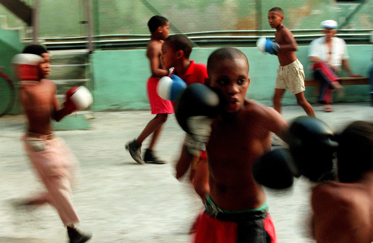 Photographer essay on Cuban boxing