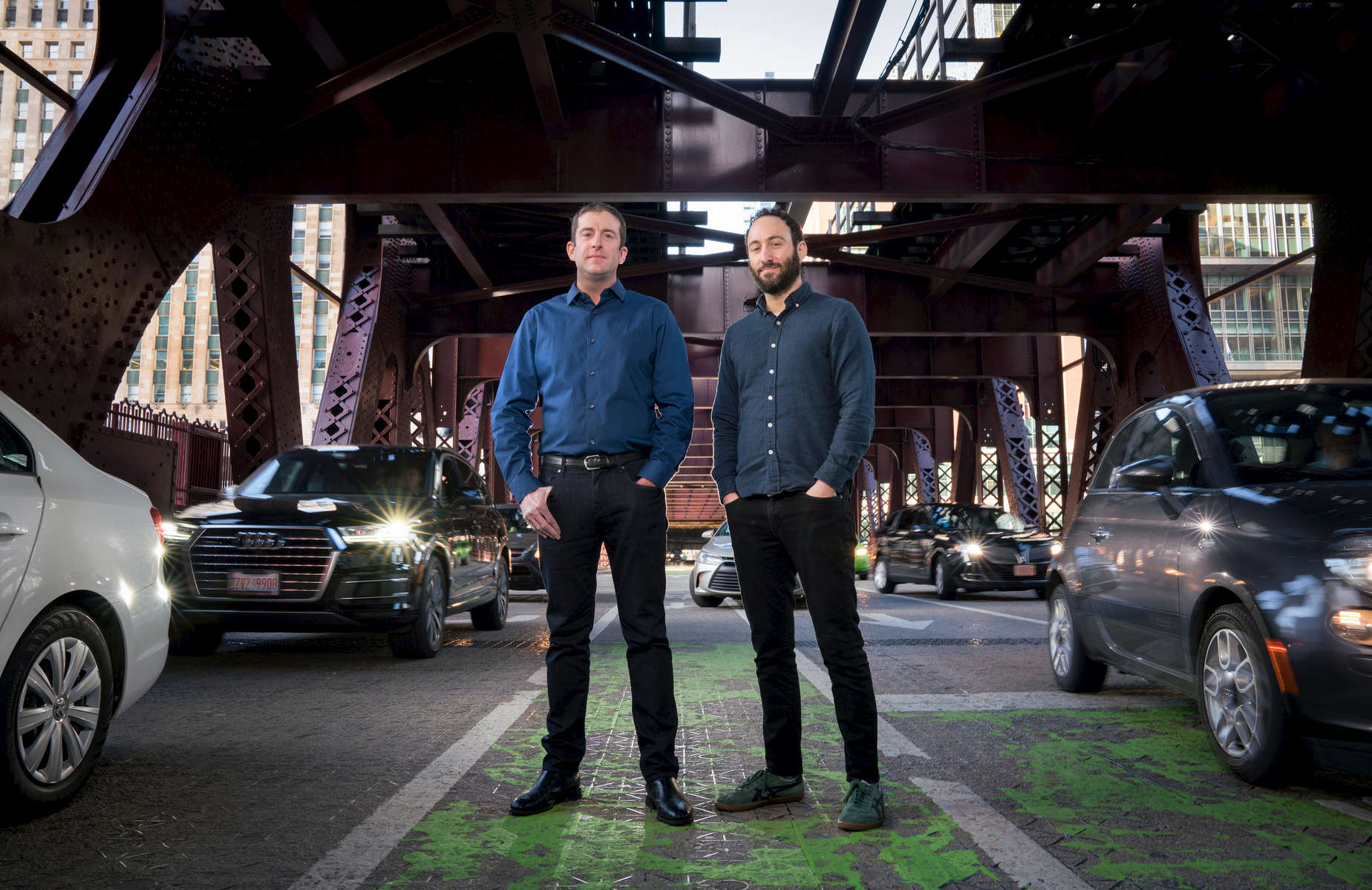 Business portraits in Chicago