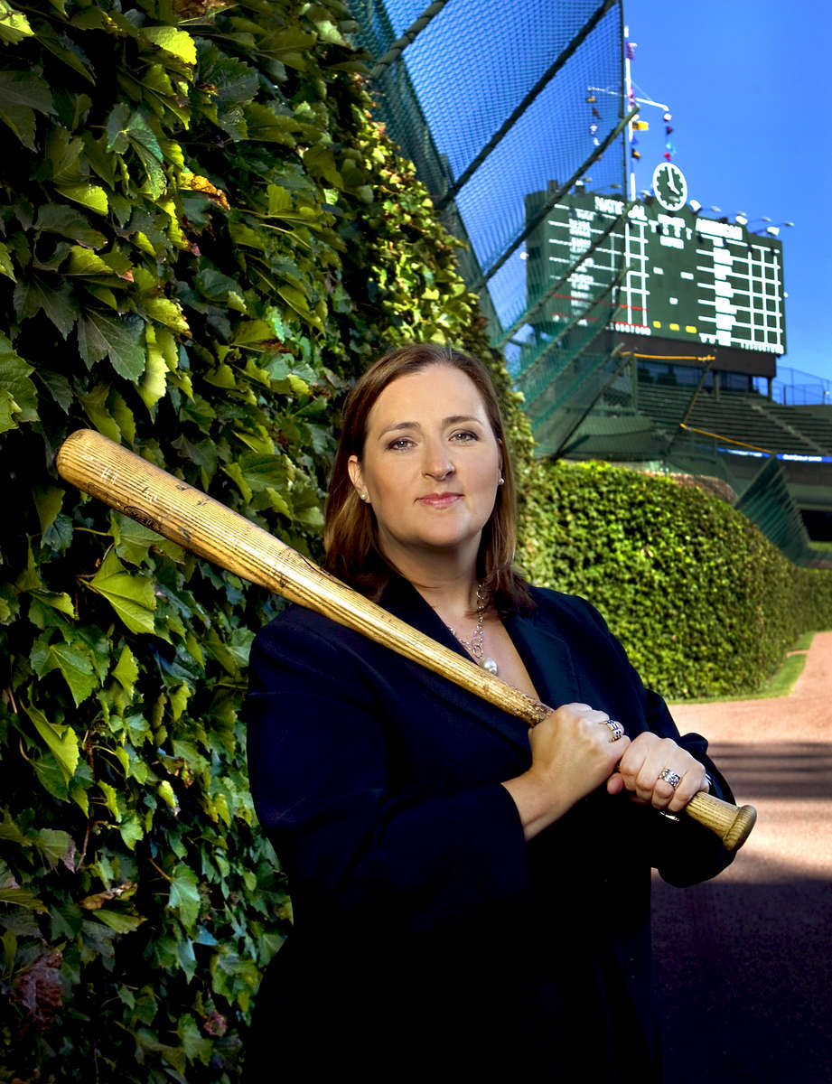 business portrait of Laura Ricketts, Co-Owner, Chicago Cubs