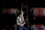 Lou Preston has evolved his wine operation into biodiverse farm at Preston Vineyards in Healdsburg, Calif., on Monday, April 4, 2016. He started four decades ago and was a pioneer grape grower in Dry Creek Valley and the farm-to-table movement.