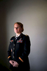 Transgender veteran Captain Sage Fox poses for a photo at her home in Orangevale, Calif., on Friday, October 24, 2014. Fox was initially asked to continue serving as a female officer but two weeks later, was unexpectedly put on inactive status. She's now stuck in limbo, unable to access her benefits and about to lose her home. {quote}They don't know what to do,{quote} she said of the military's treatment of transgender soldiers, {quote}so they're doing nothing.{quote}