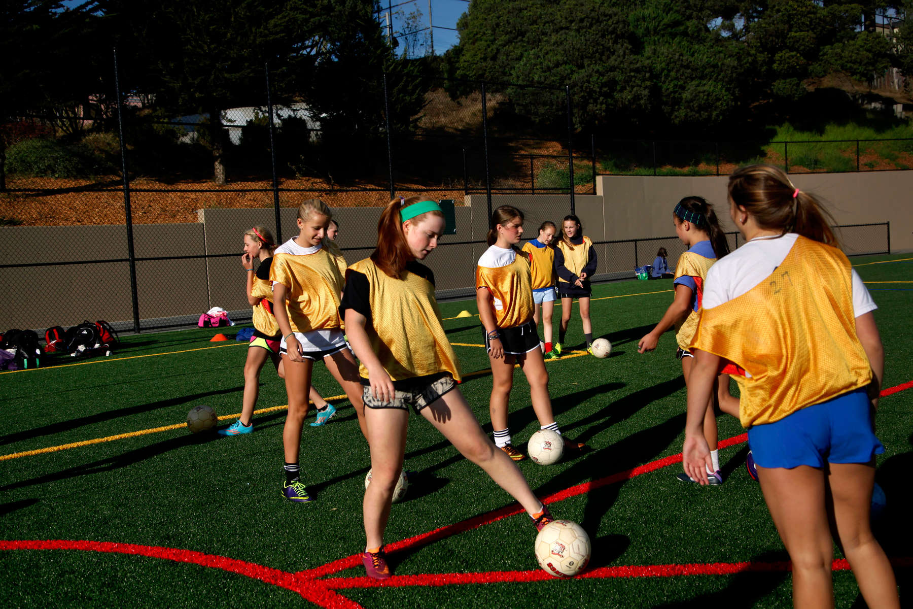Soccer field, San Francisco, Calif., for the New York Times