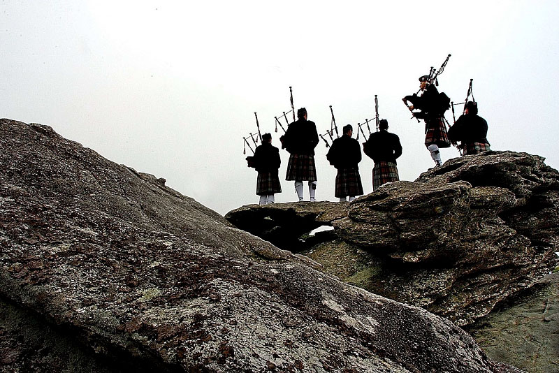 © 2007 Patrick Schneider Photographywww.PatrickSchneiderPhoto.comA silhouette of bagpipers playing at the annual Grandfather Mountain Highland Games make a striking scene in the North Carolina mountains. Stock photography from throughout Charlotte and North Carolina show the difference a photojournalistic approach offers. Most images on this site are available for licensing or prints purchases.