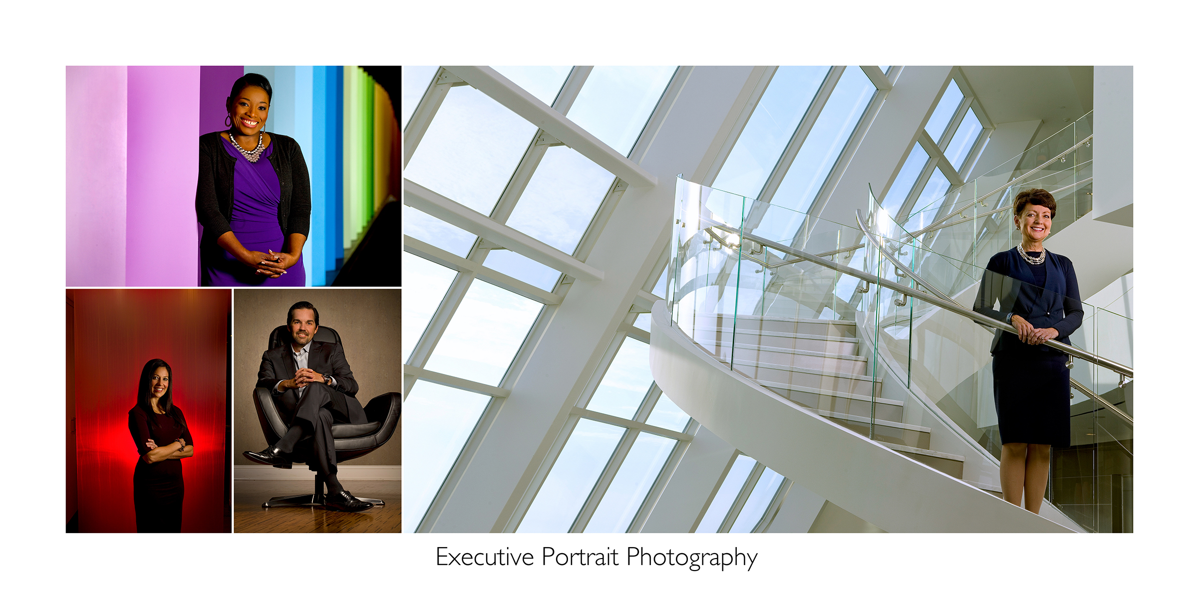 Executive Portraits On-Location Photography