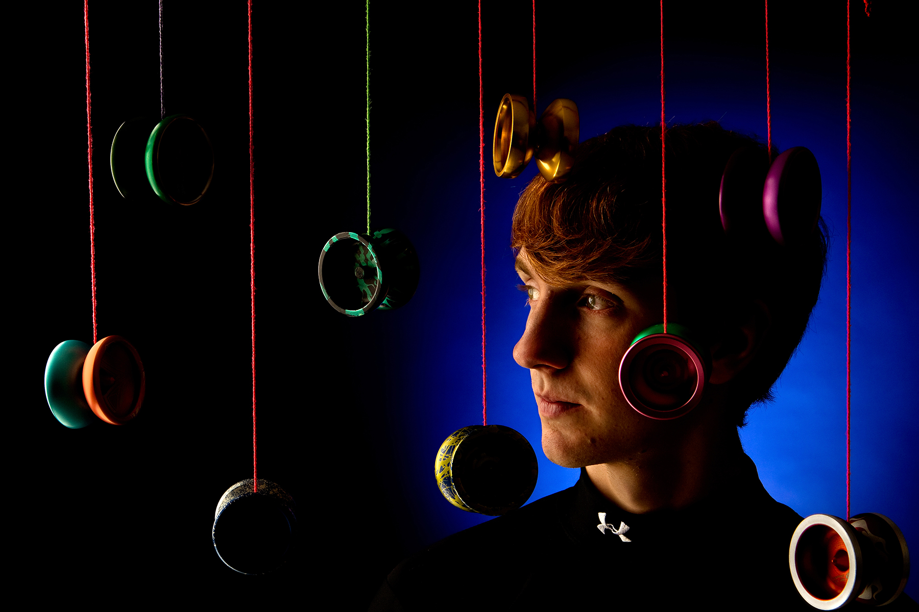 On location portrait photography of Yo-Yo King Alex Curfman, 19, from Richmond, Virginia.Photo by Charlotte Photographer - PatrickSchneiderPhoto.com