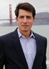 Executive portrait, lawyer, San Francisco, Golden Gate Bridge backround