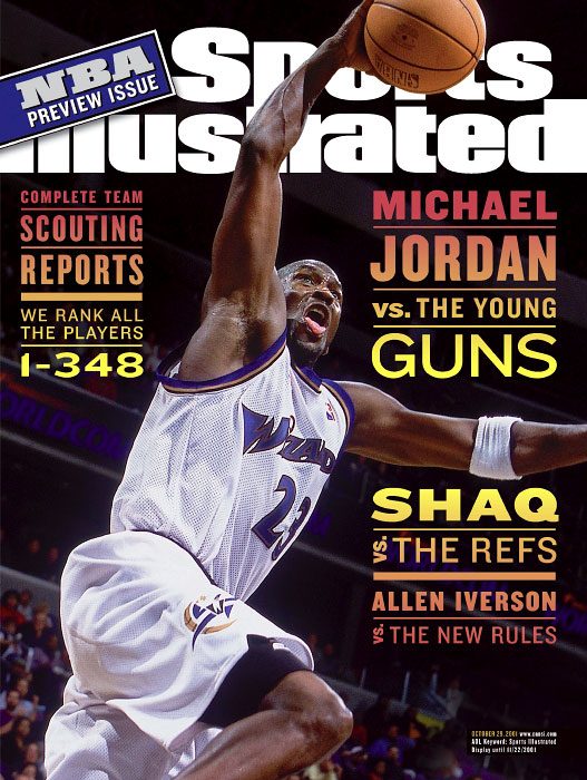Michael Jordans 50th SI cover when he returned to the NBA with the Washington Wizards