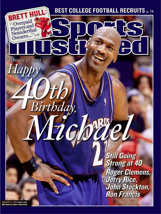 Michael Jordan turns 40