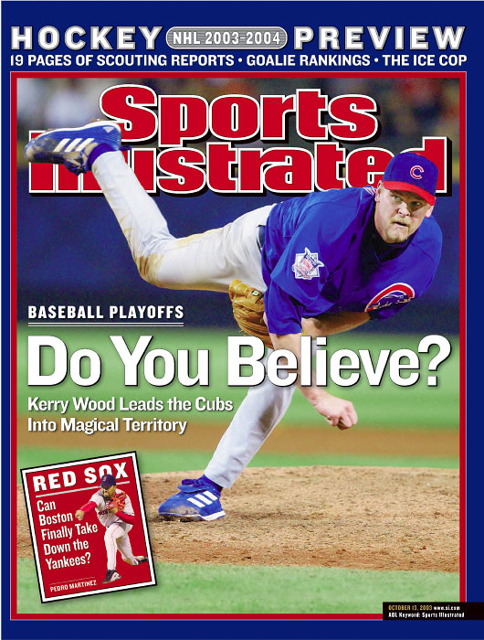 Chicago Cubs Kerry Wood from the NL Division Series