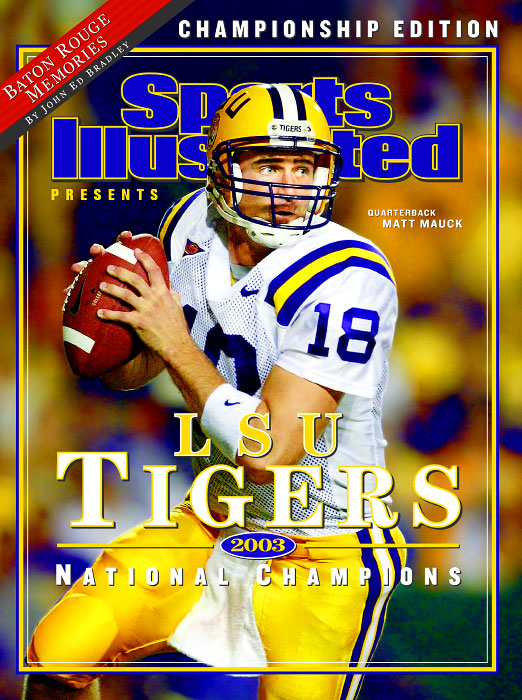 LSU Tigers 2003 National Champions Commemorative Issue