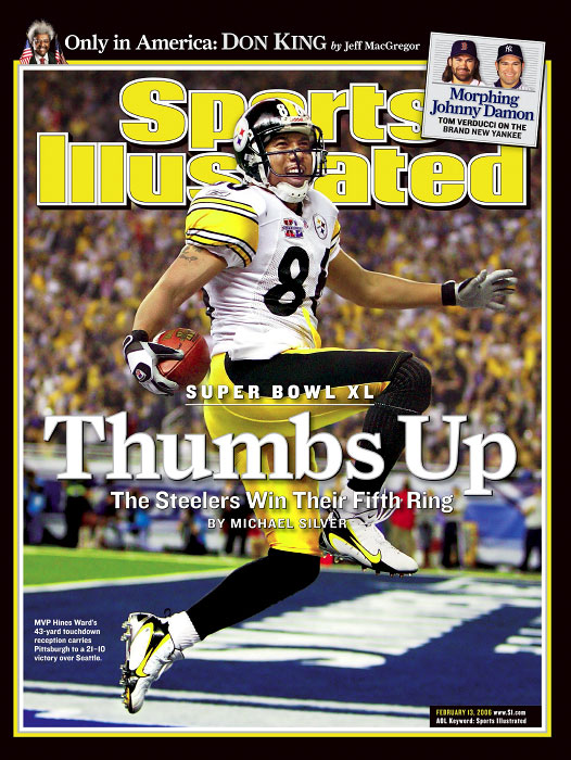 Pittsburgh Steelers Hines Ward from Super Bowl XL