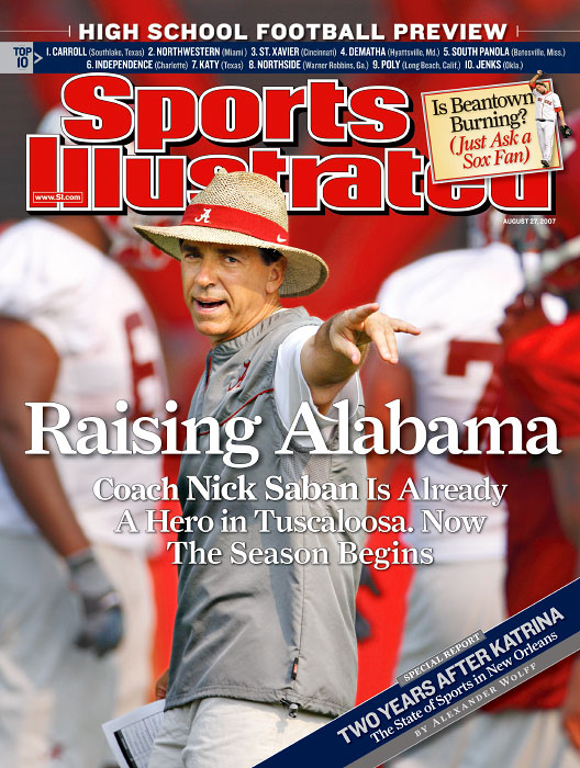 Alabama Crimson Tide Head Coach Nick Saban