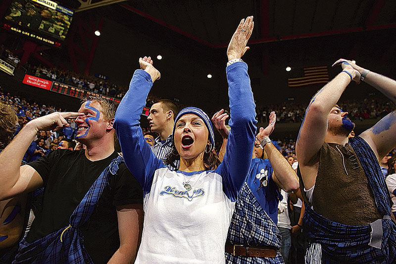 Actress Ashley Judd is an avid Kentucky fan