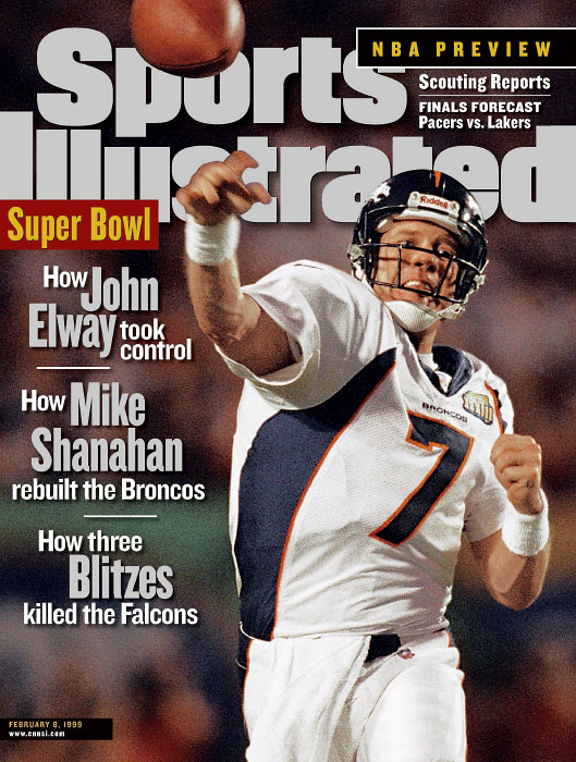 Denver Broncos John Elway from Super Bowl XXXIII