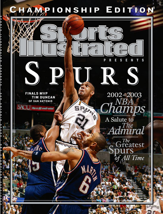 San Antonio Spurs Championship Commemorative Issue