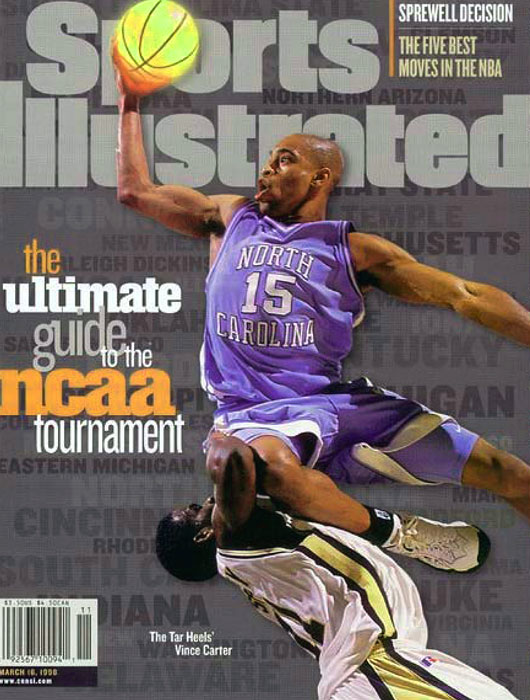 North Carolina Tar Heels Vince Carter