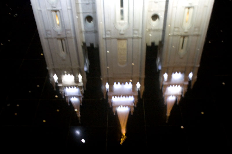 Mormon Temple, Salt Lake City, Utah, 2008.