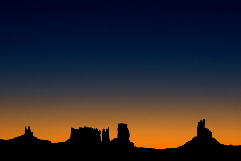 Monument Valley, Navajo Indian Reservation, Utah, 2008