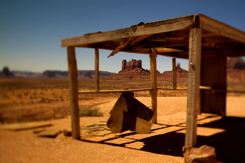 Monument Valley, Navajo Indian Reservation, Utah, 2008.