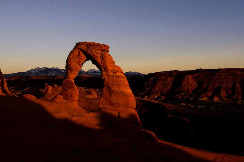 Delicate Arch, Arches National Park, Utah, 2008