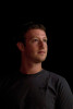 Mark Zuckerberg, chief executive officer and founder of Facebook Inc., waits backstage before speaking during TechCrunch Disrupt SF 2012 in San Francisco, California, U.S., on Tuesday, Sept. 11, 2012. Zuckerberg, addressing the companys stock slump for the first time since a May initial public offering, said growth in the coming years will hinge on its ability to succeed with mobile products.  