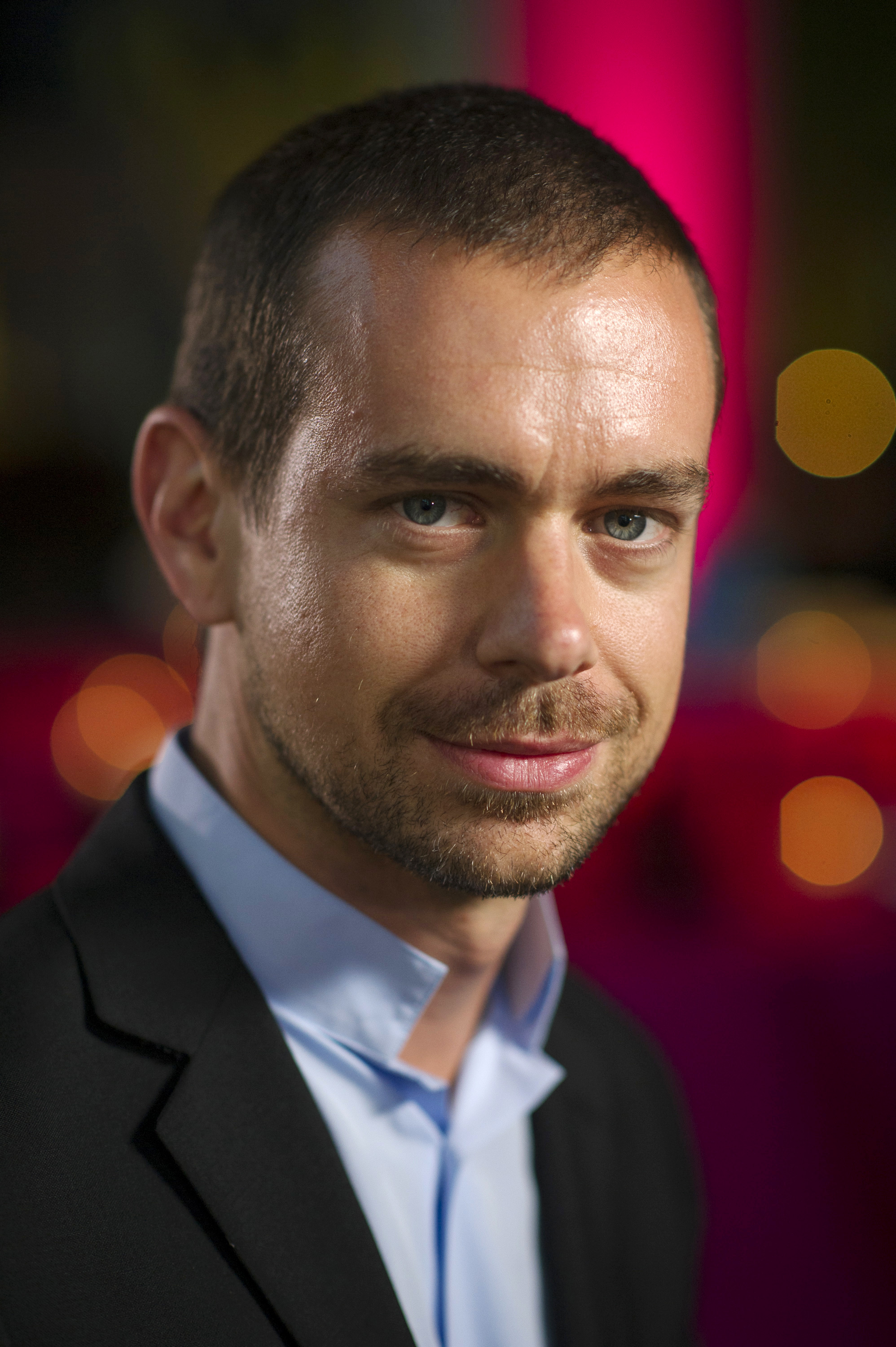 Jack Dorsey, chairman and co-founder of Twitter Inc., poses for a photograph in San Francisco, California on Friday, May 17,  2013.