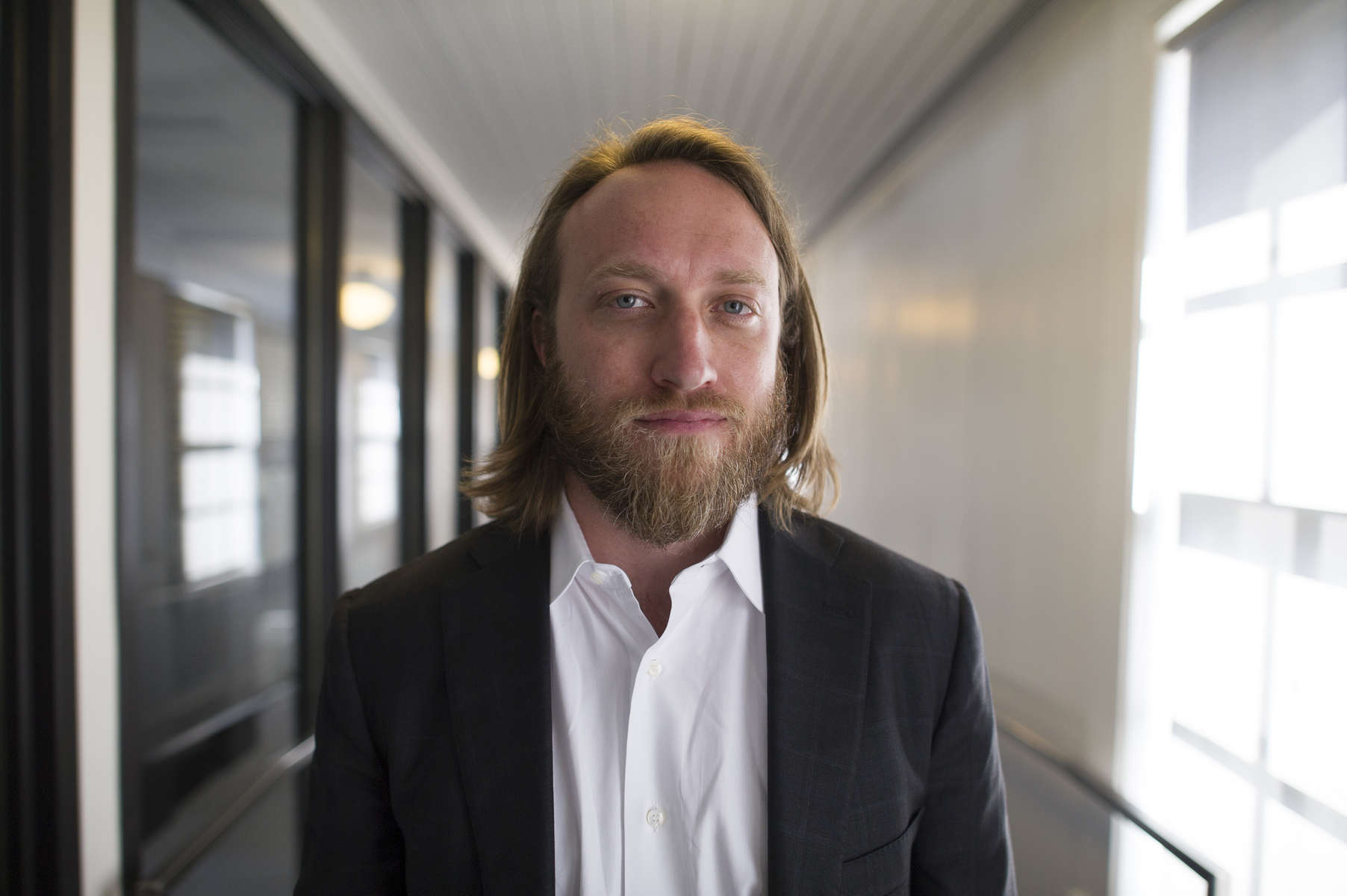 Chad Hurley, co-founder of YouTube, who also co-founded AVOS Systems Inc., and Mixbit, stands for a photograph in San Francsico, California on Thursday, Aug. 22, 2013.