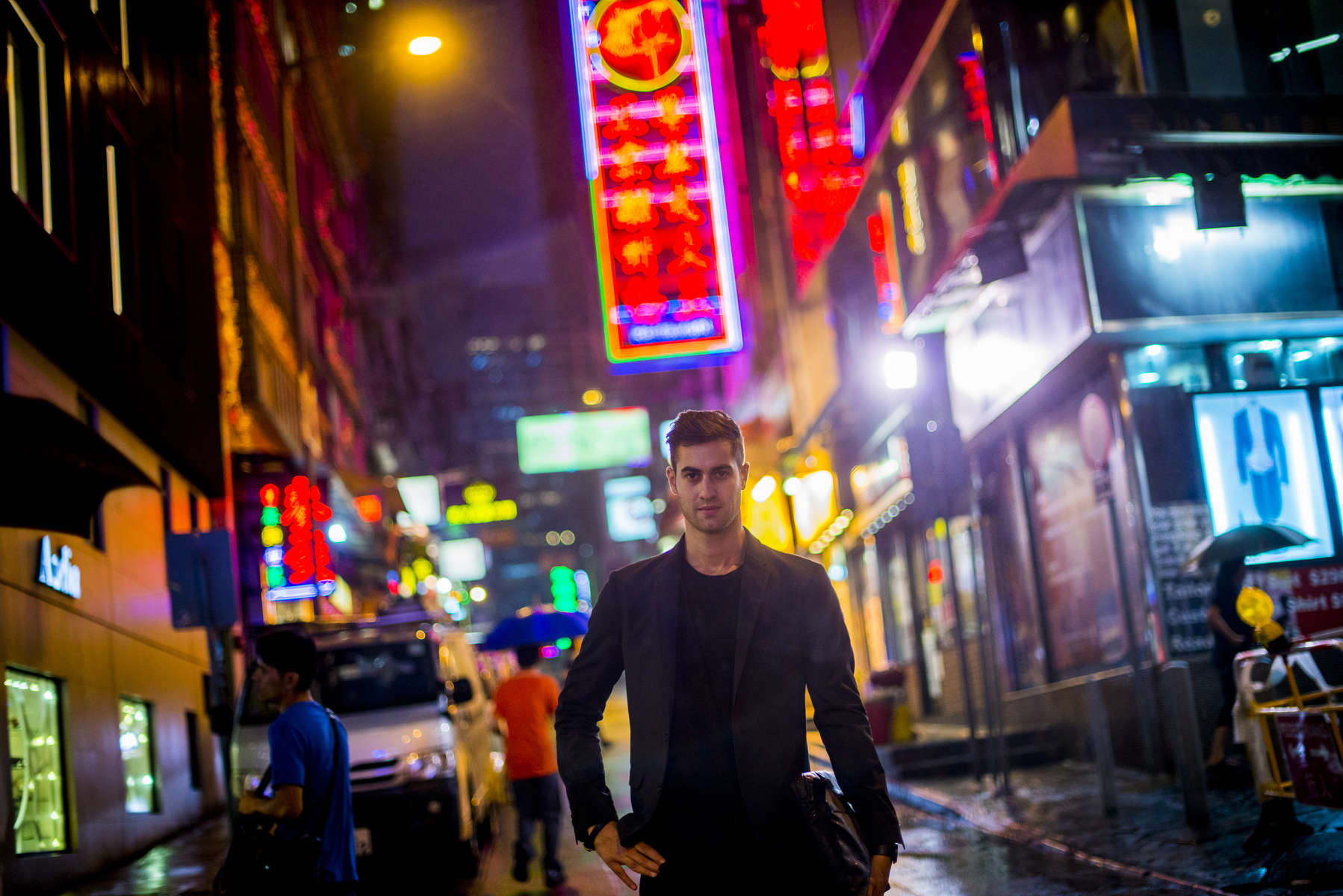 Riyad Joucka stands for a photograph in Hong Kong on Monday, November 4, 2013.