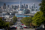 San Francisco skyline in San Francisco, California, U.S., on Wednesday, April 18, 2018. Photographer: David Paul Morris