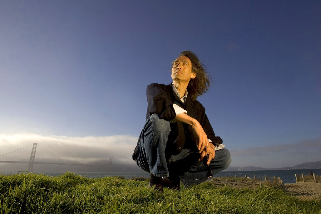 International conductor Kent Nagano photographed at Crissy Field in San Francisco, California.
