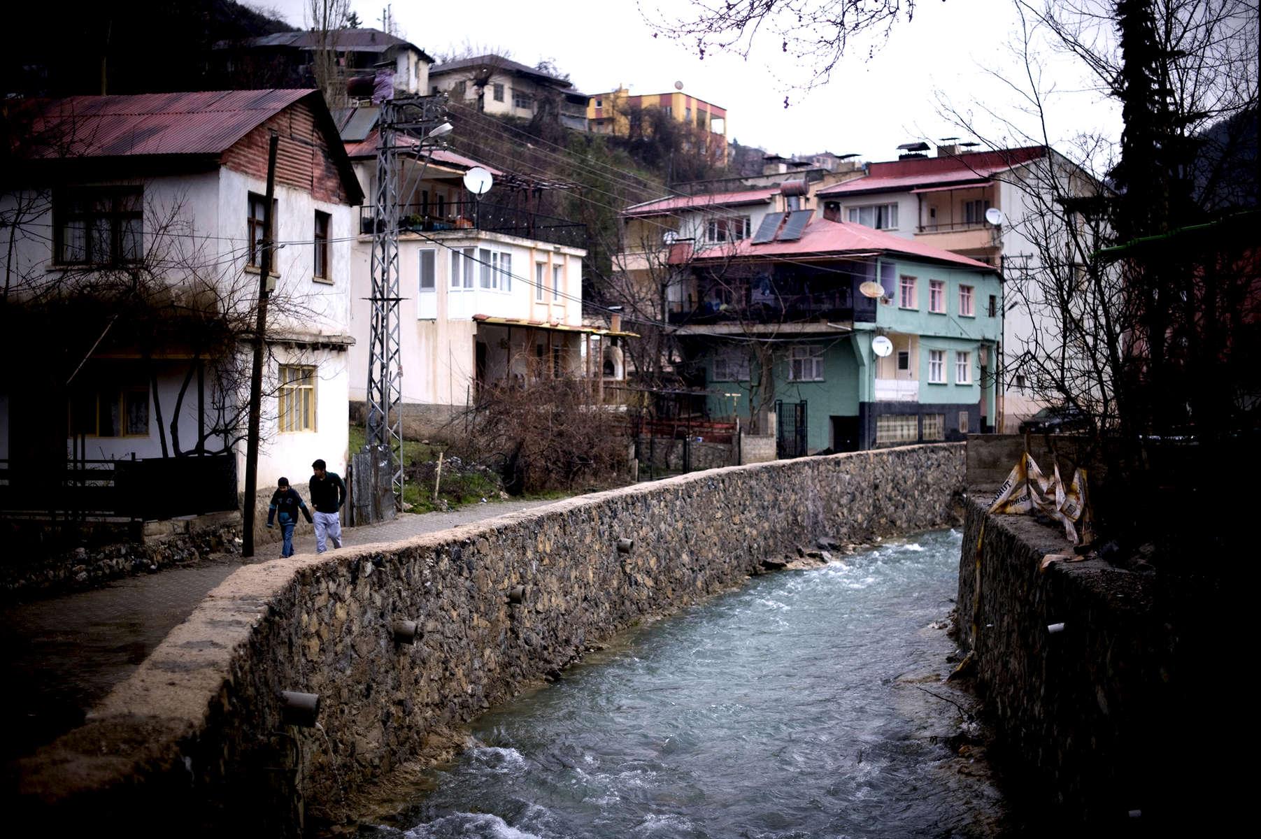 River Göksun, formerly the Kirkot River - Saimbeyli, Turkey, formerly Hadjin