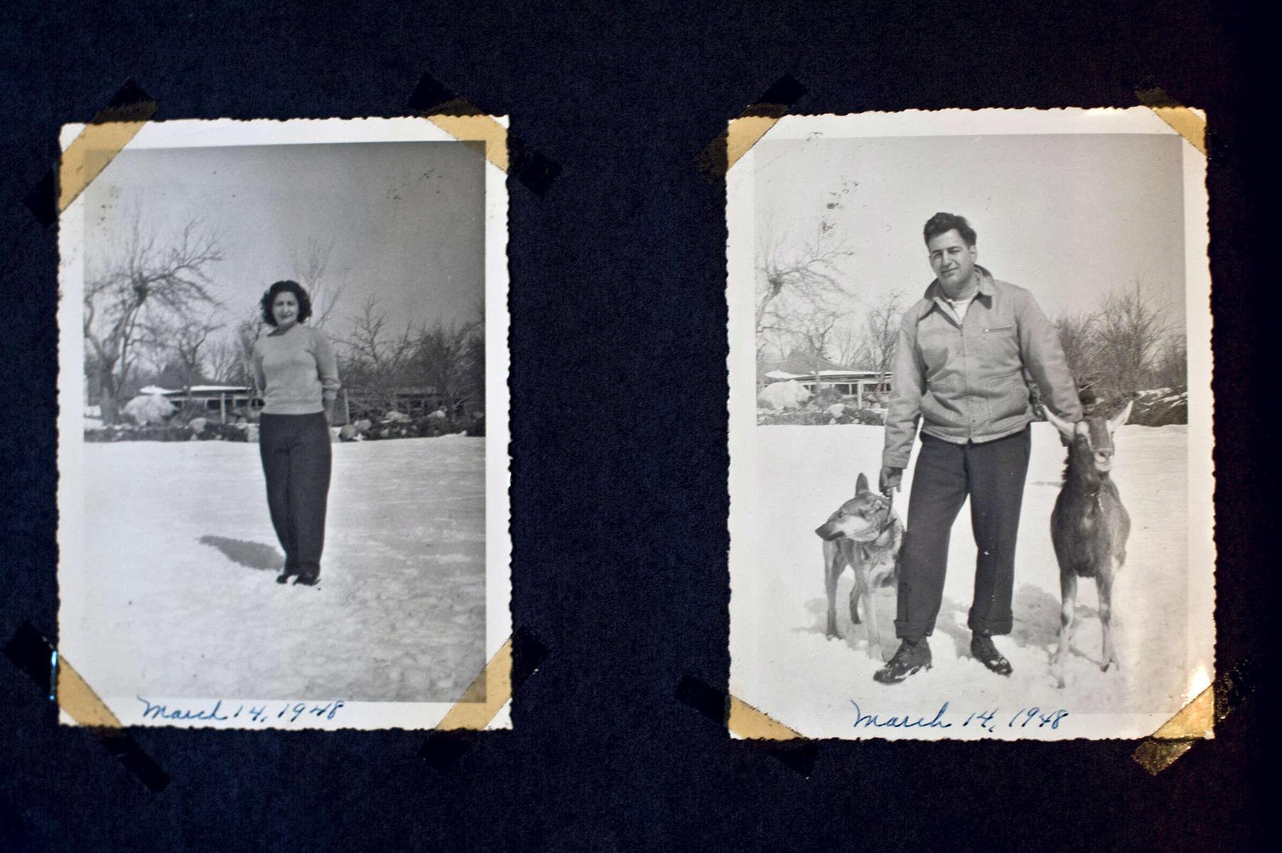 Family photographs - Whitman, MA