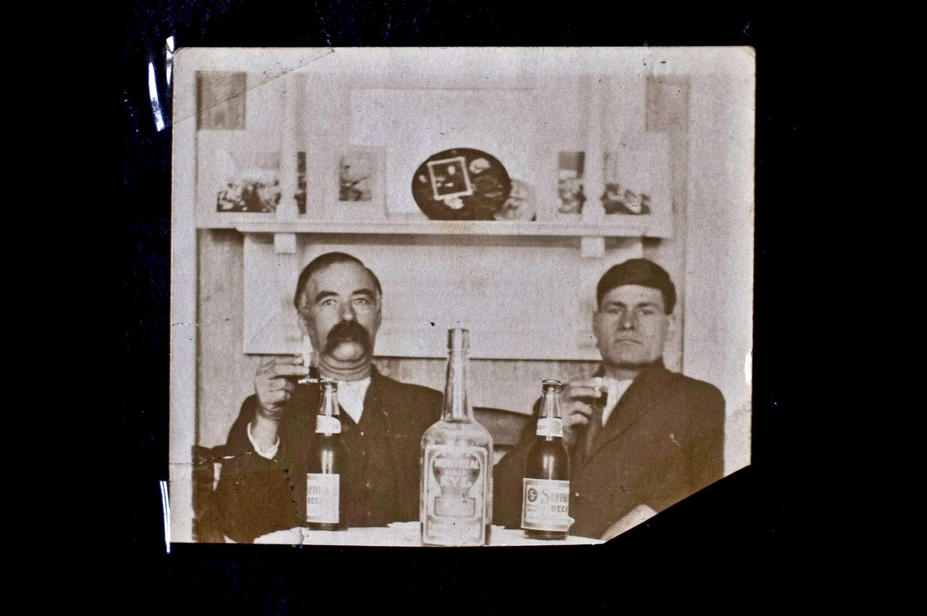 Family photographs - Whitman, USA