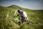 HALO Trust deminers work to clear an anti-tank minefield in Govshatly, near Drakhtik in Hadrut. DEMINER: Marat BedrosyanMANY OF THESE DEFINERS WERE INTERVIEWED- PULL QUOTES TK