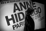 March 13, 2014.  PARIS, FRANCE- Mayoral candidate Anne Hidalgo does a technical run through before her big rally at Paris' historic Cirque d'Hiver.  For the first time in France's history, Paris will have a woman as a mayor - either Socialist Anne Hidalgo or Center-Right Nathalie Kosciusko-Morizet.  Photo by Scout Tufankjian