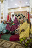 The Emir of Kano, Muhammed Sanusi II meets with female family members in the inner palace in Kano, NigeriaThe Emir of Kano is the fourth most powerful religious leader in Nigeria ruling the Kingdom of Kano which has been in existence for over 1000 years. The former Governor of the Central Bank of Nigeria, Muhammed Sanusi II, 56, was crowned in 2014, taking over the traditional role as a religious leader but also as an advisor to politicians, government employees, village chiefs and even settles disputes between individuals.Seen as a modern leader, Sanusi II has been a champion for girls education, women rights, job creation, development as well as the re-industrializing Kano State. But, as his methods of communication became just as advanced by using Facebook and Twitter via his aides, coupled with his radical thoughts on modern islam, many felt that he was being influenced by the west and a backlash began. Since then, the Emir has reduced/eliminated his involvement in social media as well as softened his approach with the conservative scholars.