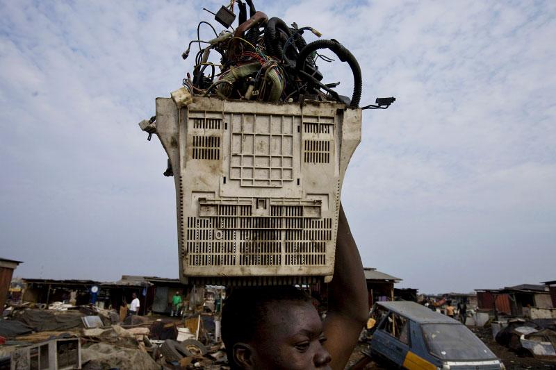 ewaste- accra, ghana