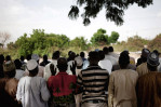 Afternoon prayers, Maiduguri, Nigeria. 2013