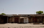 A former Boko Haram stronghold that has been shuttered in Maiduguri, Nigeria. 2013
