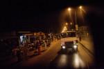 Leaving Banjul, Gambia.