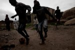 Children play in Jos North