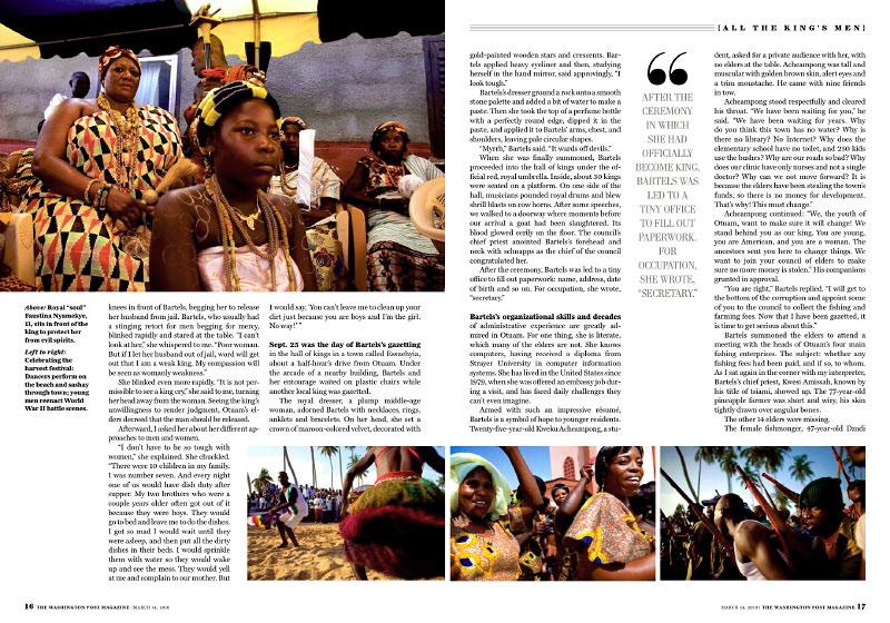 Washington Post Magazine Sunday, March 14, 2010slideshow