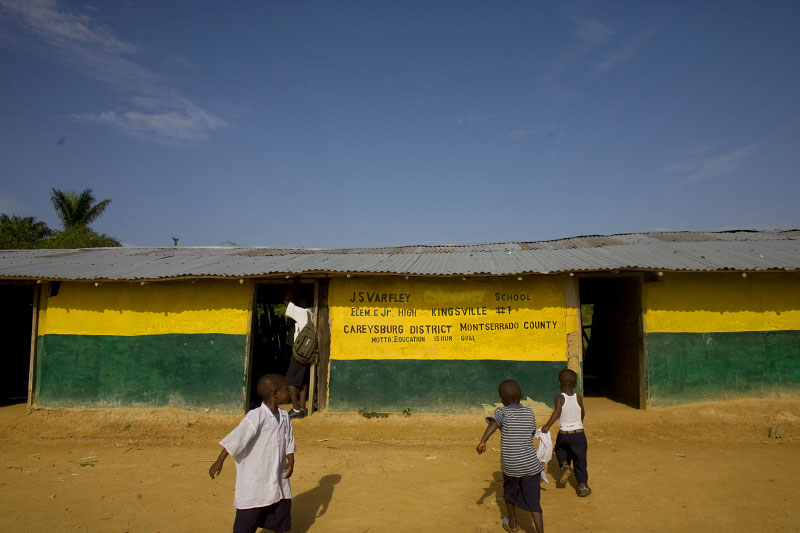 The Varfley Junior High School- Kingsville, Liberia