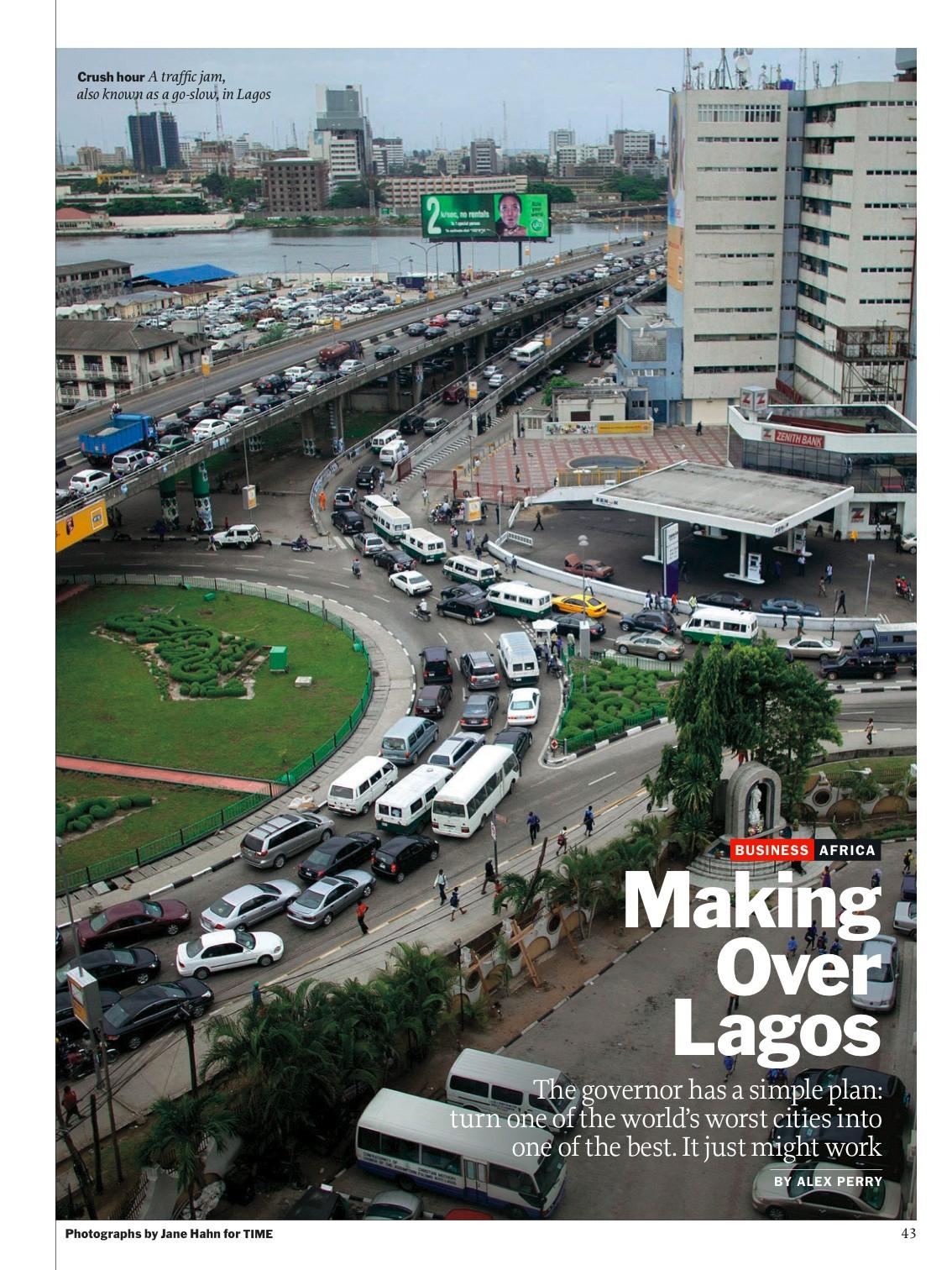 Making Over LagosTime MagazineMay 2011