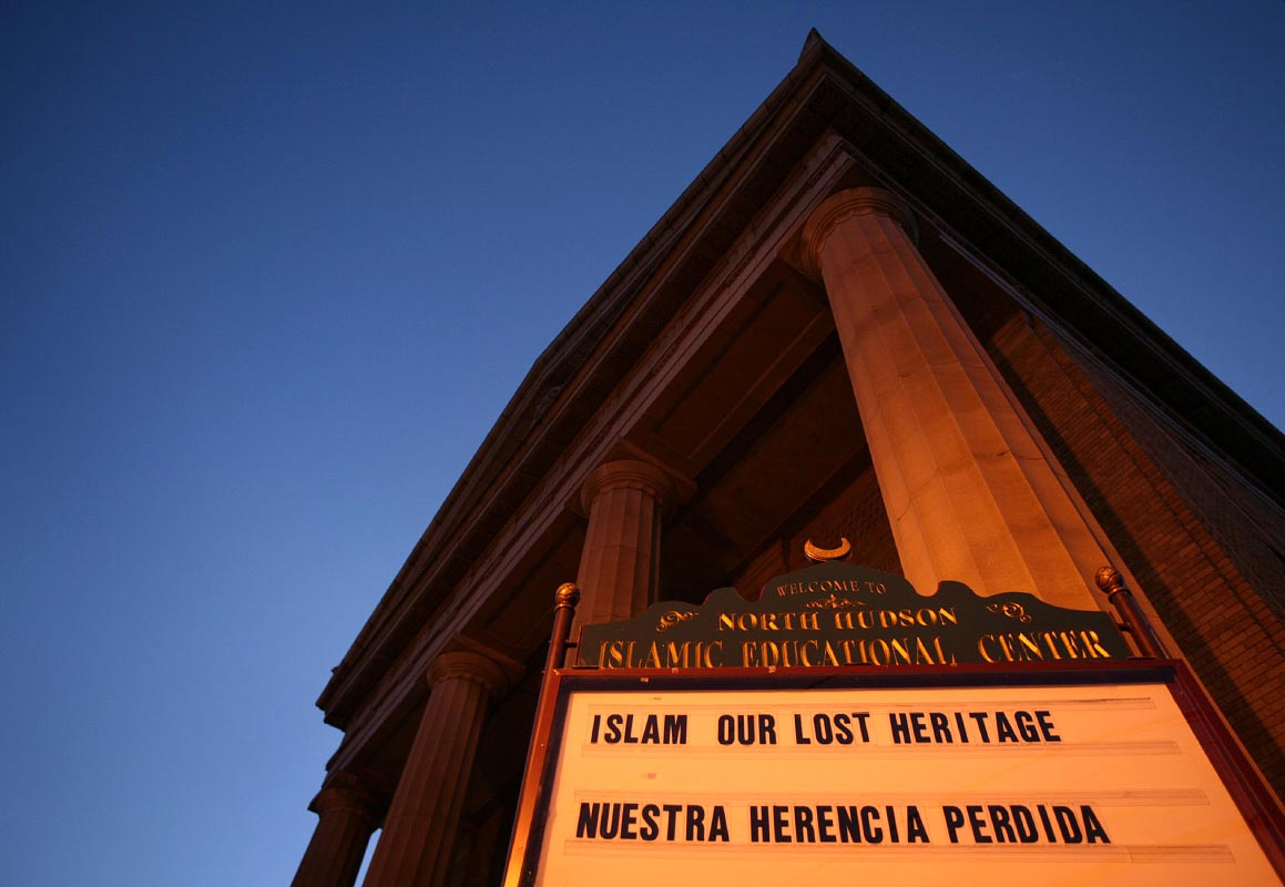 Islamic Educational Center of North Hudson in Union City, New Jersey, is home to one of the largest Hispanic Muslim communities in the United States.