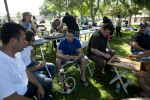 Iraqi Chaldeans gather in a park to picnic on the day of Saint George. El Cajon, CA. USA. 28/04/2013.