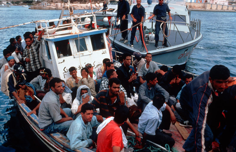 boat load of illegals