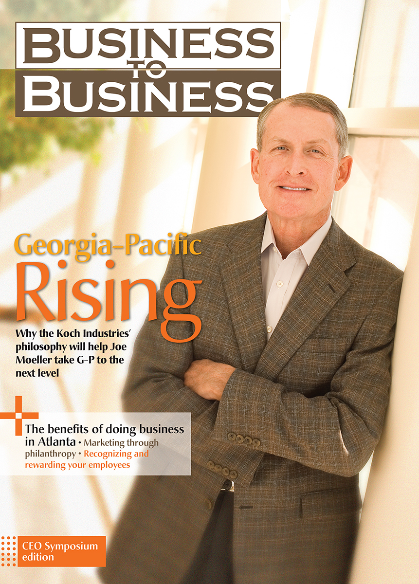 CEO Georgia Pacific-Joe Moeller