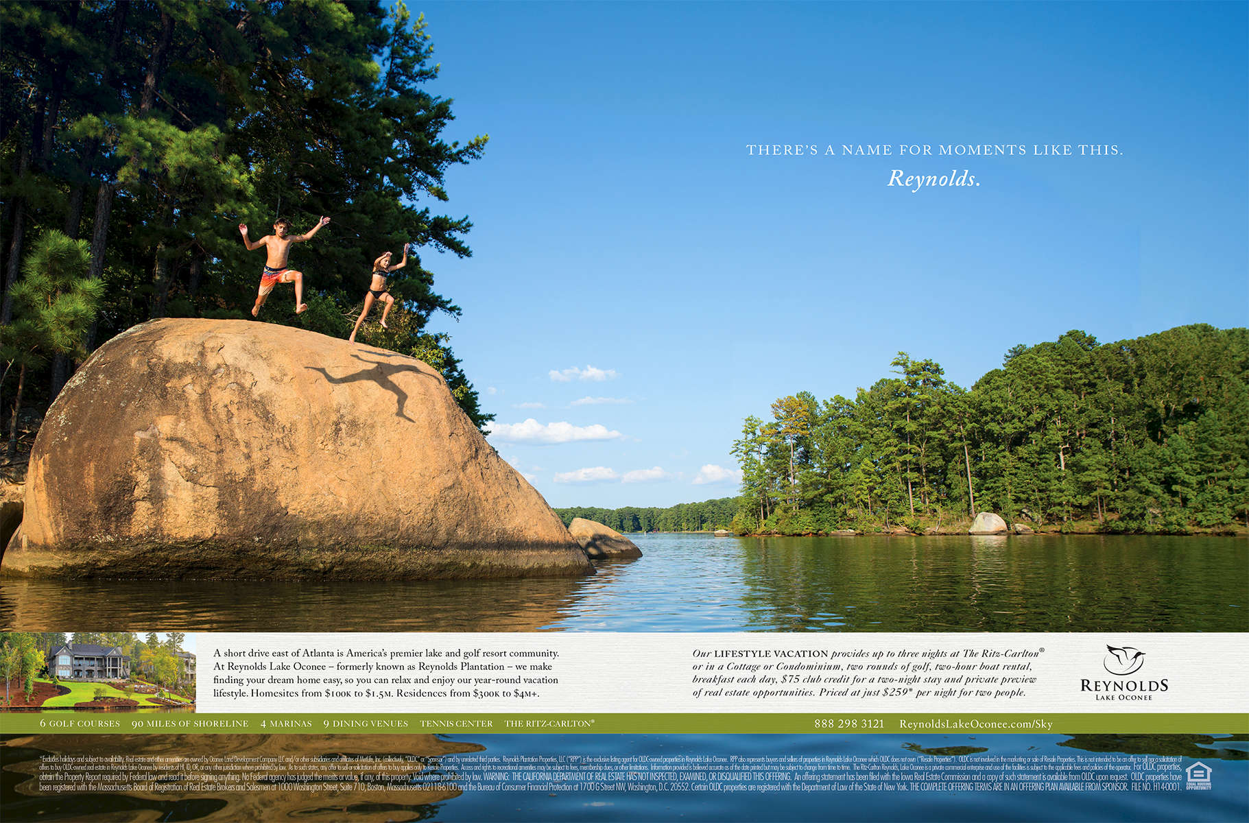 Client: Reynolds Lake Oconee/McQuire Marketing